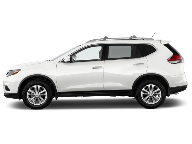 2014 Nissan Rogue FWD 4-door SV Side Exterior View