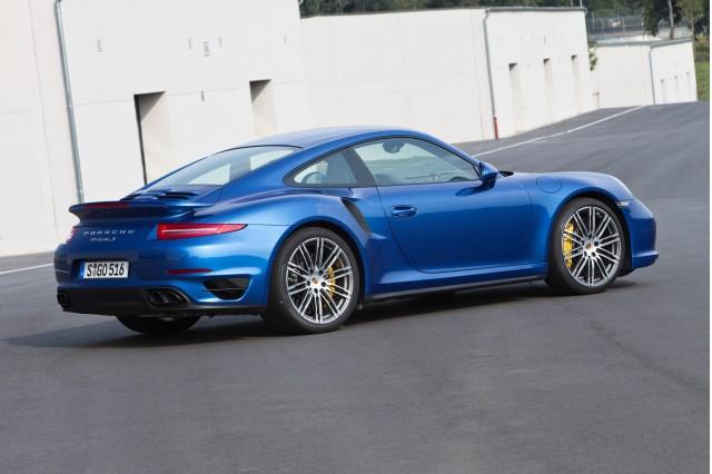 2014 Porsche 911 Turbo Driven M4 Convertible Spied Gumpert