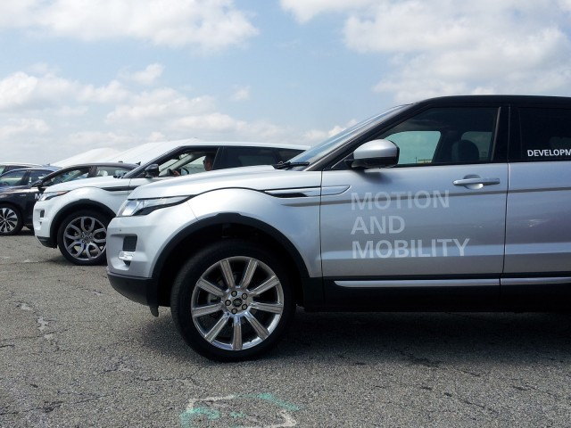 2014 Range Rover Evoque SD4 (European diesel model), ZF Drive Day, Jul 2013