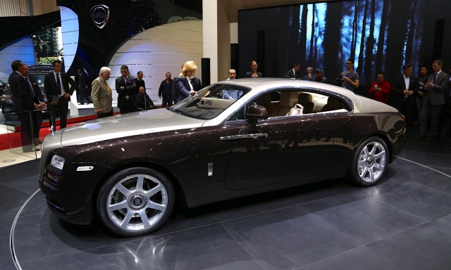 2014 Rolls-Royce Wraith, 2013 Geneva Motor Show