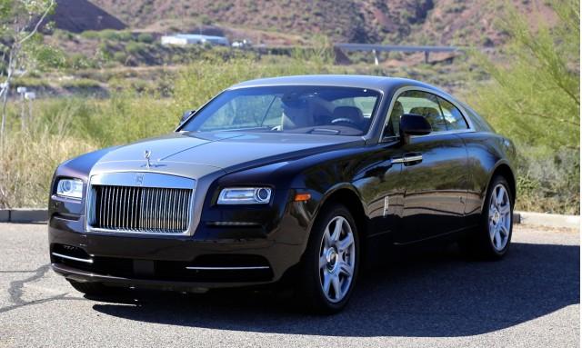 2014 Rolls-Royce Wraith First Drive, Scottsdale, Arizona