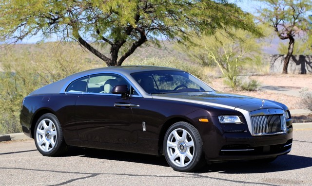 2017 Rolls Royce Wraith First Drive Scottsdale Arizona