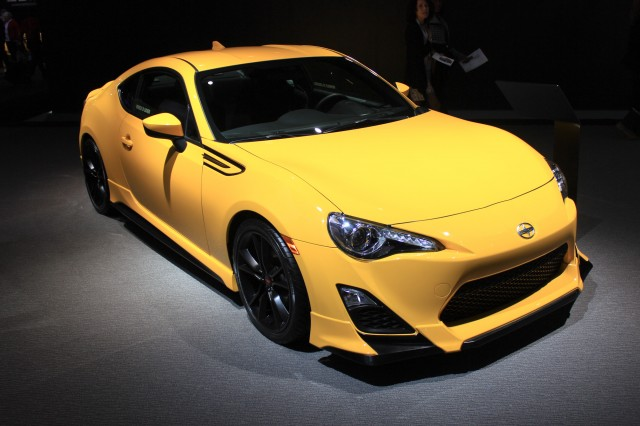 2014 Scion FR-S Release Series 1.0, 2014 New York Auto Show
