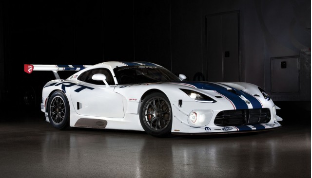 2014 SRT Viper GT3-R race car