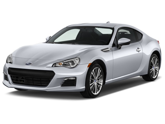 2014 Subaru BRZ 2-door Coupe Auto Limited Angular Front Exterior View