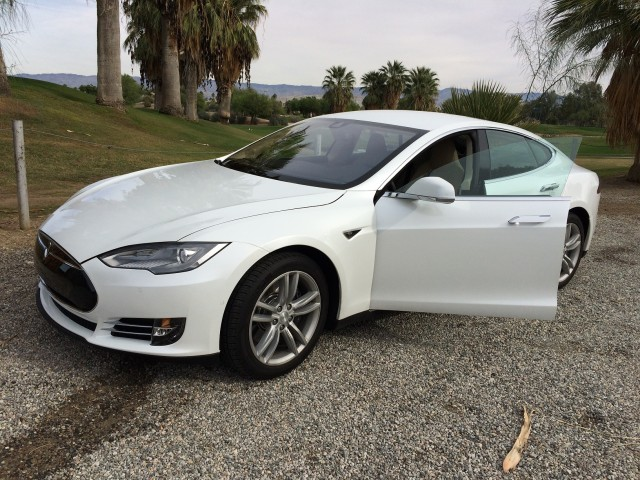 2014 Tesla Model S owned by Tom + Jeff of Palm Springs, California