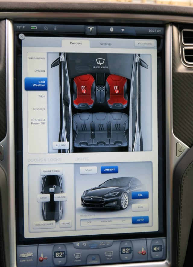 2014 tesla model s p85d first drive of all electric awd performance sedan page 3. Black Bedroom Furniture Sets. Home Design Ideas