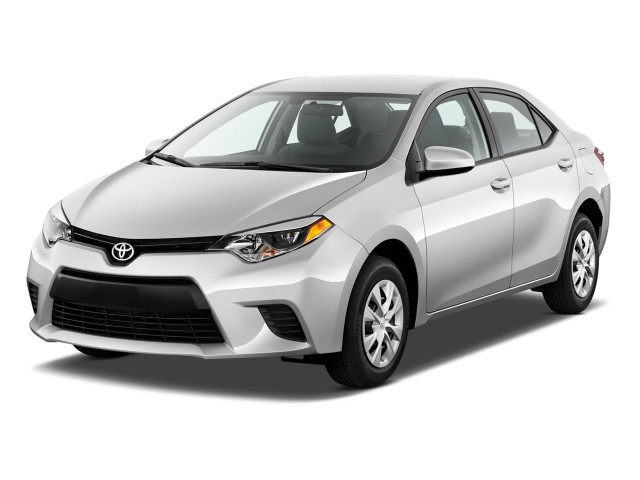 2014 Toyota Corolla 4-door Sedan Auto L (Natl) Angular Front Exterior View