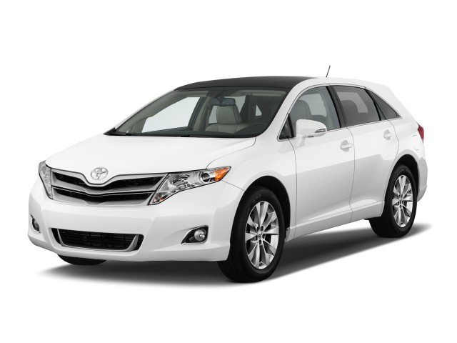 2014 Toyota Venza 4-door Wagon I4 AWD XLE (SE) Angular Front Exterior View
