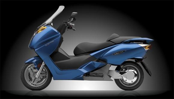 2014 Vectrix VX-1 electric motorcycle