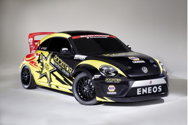 2014 Volkswagen Beetle Global RallyCross car