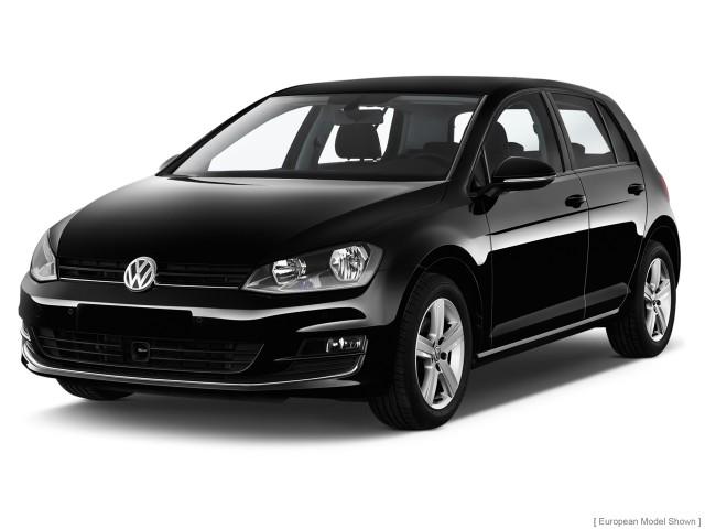 2014 Volkswagen Golf 4-door HB Auto PZEV Angular Front Exterior View