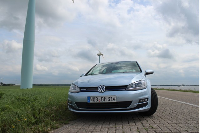 Volkswagen Golf BlueMotion (2015 VW Golf body style in U.S.)