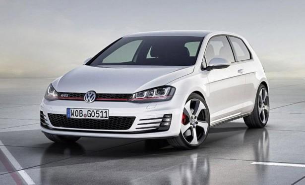 2014 Volkswagen Golf GTI (MkVII) Concept, 2012 Paris Auto Show