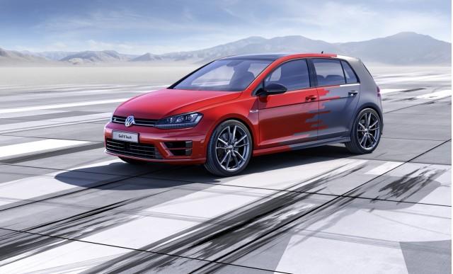 2014 Volkswagen Golf R Touch Concept  -  2015 CES