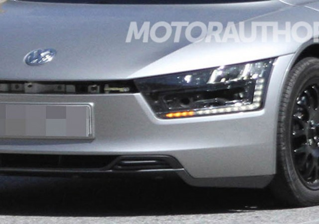 2014 Volkswagen XL1 spy shots - Image courtesy of Motor Authority