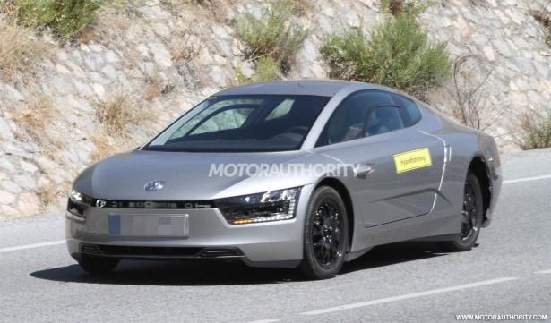 2014 Volkswagen XL1 spy shots
