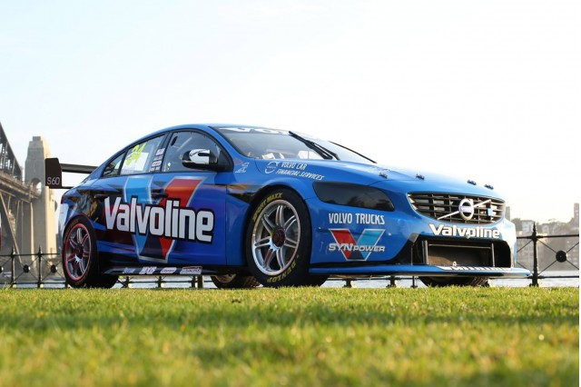 2014 Volvo S60 V8 Supercars race car