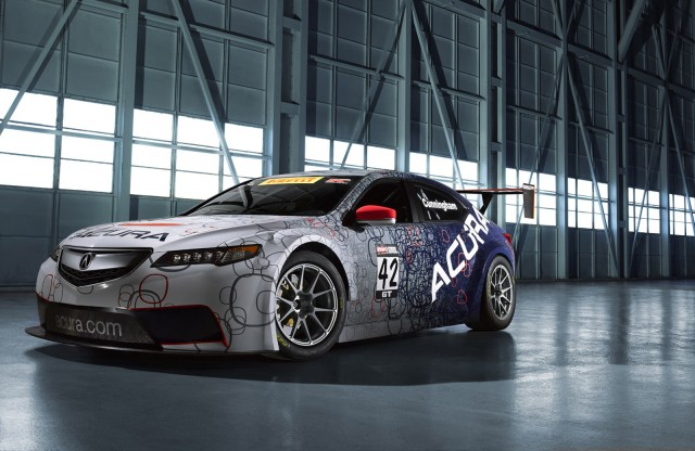 2014 Acura TLX GT race car