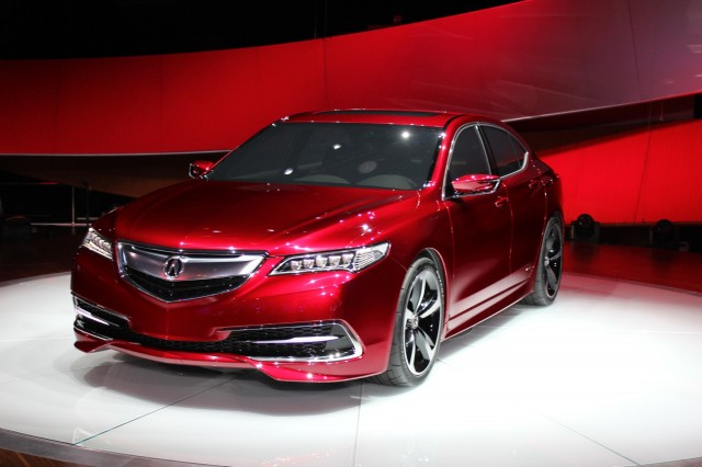 2015 acura tlx prototype full details live photos video. Black Bedroom Furniture Sets. Home Design Ideas