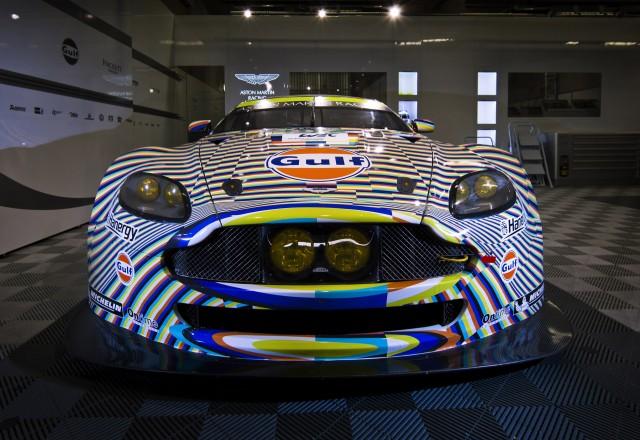 Beautiful 2015 Aston Martin Vantage GTE Art Car By Tobias Rahberger