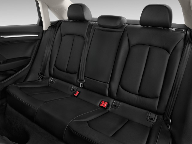 2015 Audi A3 4-door Sedan FWD 1.8T Prestige Rear Seats