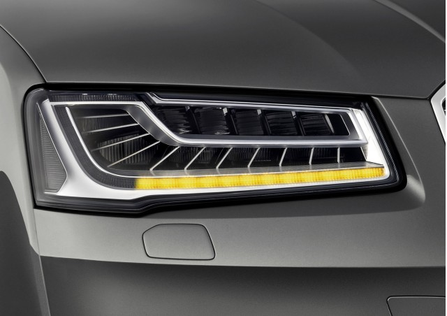 2015 Audi A8's sequential turn signal