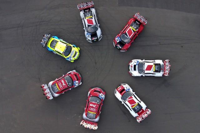 2015 Audi R8 LMS race car