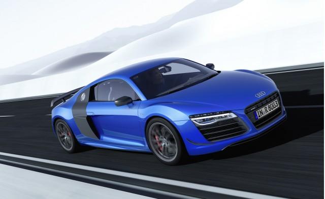 Audi R8 Lmx World S First Standard Laser Headlights Performance