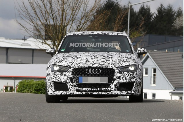 2015 Audi RS 3 Sportback spy shots
