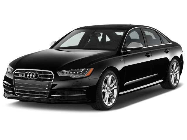 2015 Audi S6 4-door Sedan Angular Front Exterior View