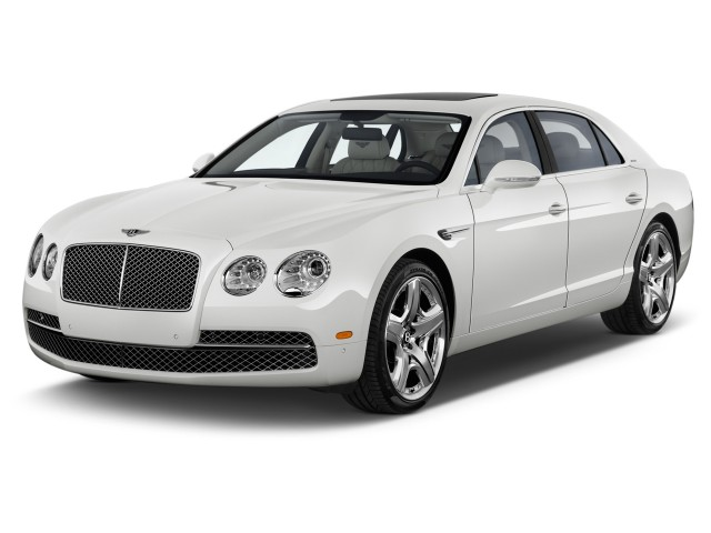 2015 Bentley Flying Spur 4-door Sedan W12 Angular Front Exterior View