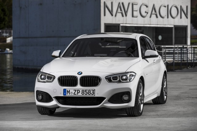 2015 BMW 1-Series Hatchback equipped with M Sport package