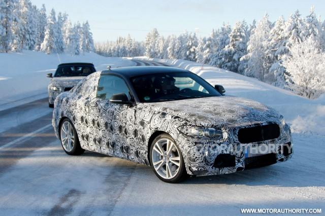 2015 BMW 2-Series Coupe spy shots