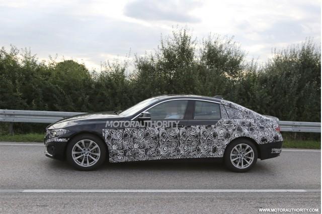 2015 BMW 4-Series Gran Coupe spy shots