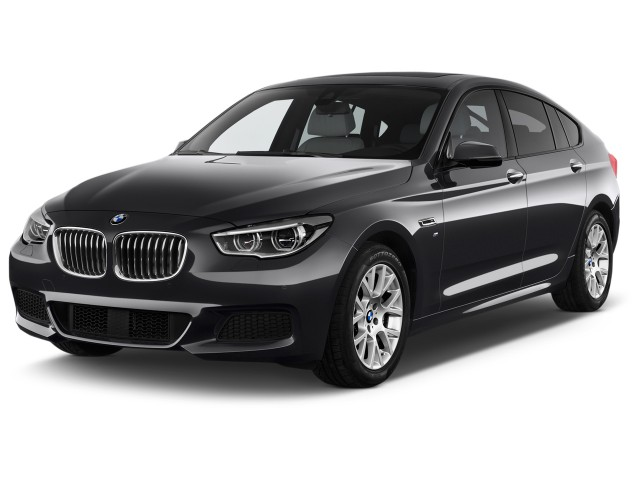 2015 BMW 5-Series Gran Turismo 5dr 535i Gran Turismo RWD Angular Front Exterior View
