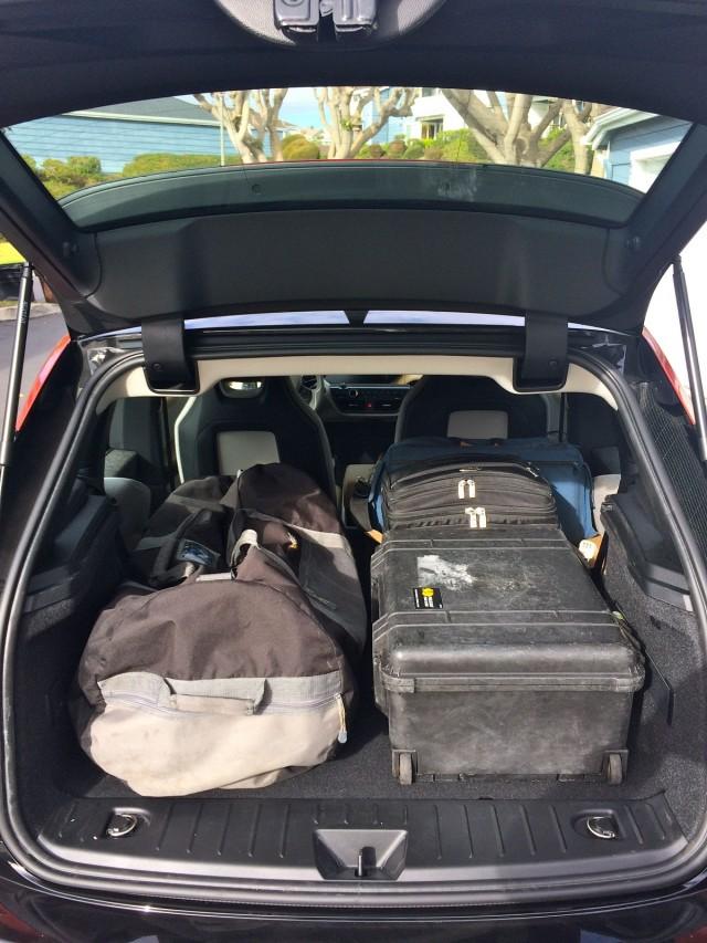 2015 BMW I3 REx Cargo Capacity Photo Jeff Pantukhoff