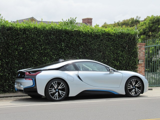 2015 BMW i8, test drive in greater Los Angeles area, Apr 2014