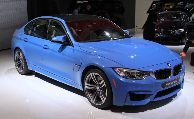 2015 BMW M3 live photos, 2014 Detroit Auto Show
