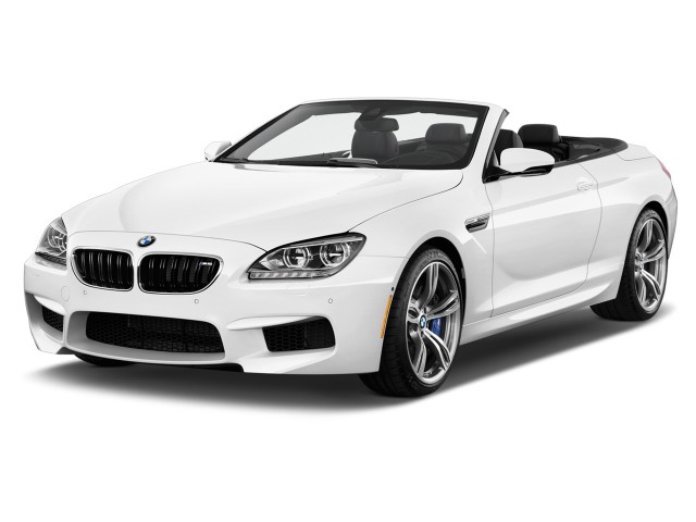 2015 BMW M6 2-door Convertible Angular Front Exterior View