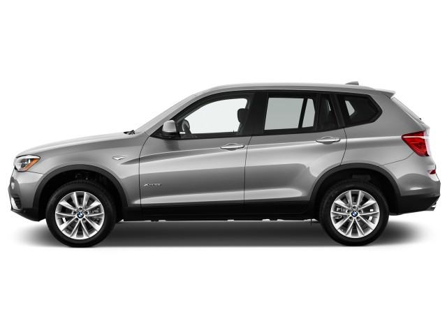 2015 BMW X3 AWD 4-door xDrive28i Side Exterior View