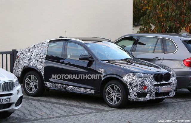 2015 BMW X4 spy shots