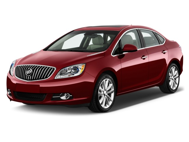 2015 Buick Verano 4-door Sedan Leather Group Angular Front Exterior View