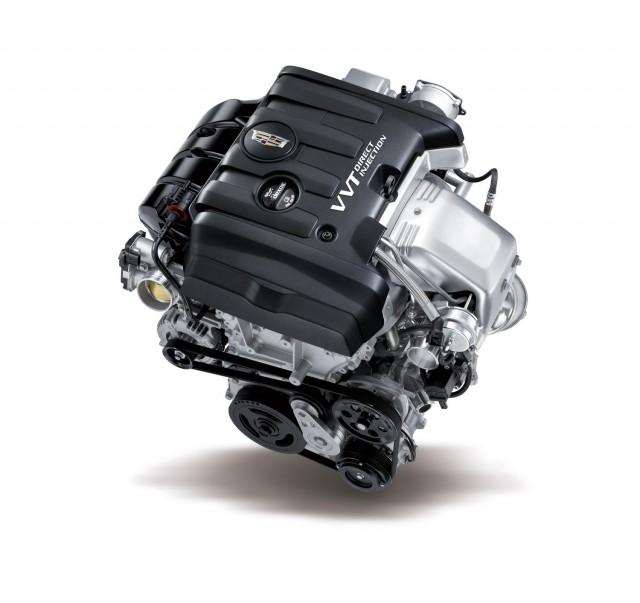 2015 Cadillac ATS Coupe 2.0T four-cylinder turbocharged engine