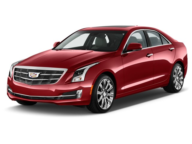2015 Cadillac ATS Sedan 4-door Sedan 2.5L Standard RWD Angular Front Exterior View