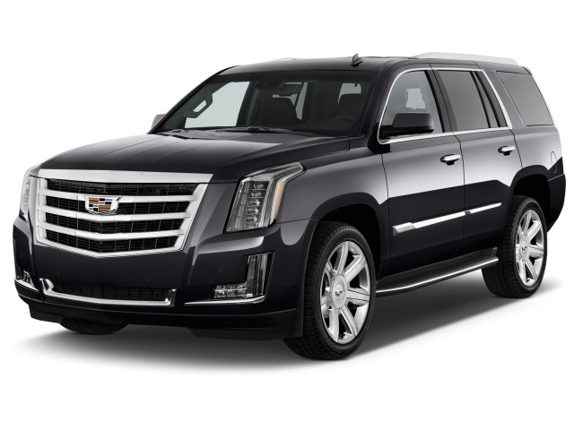 2015 Cadillac Escalade 4WD 4-door Luxury Angular Front Exterior View