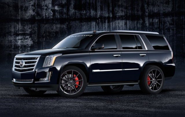 2015 Cadillac Escalade Custom >> Hennessey Gets Its Hands On 2015 Escalade First Mod Delivers 557