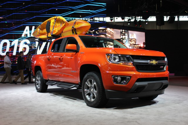 2017 Chevrolet Colorado Gearon Edition Chicago Auto Show