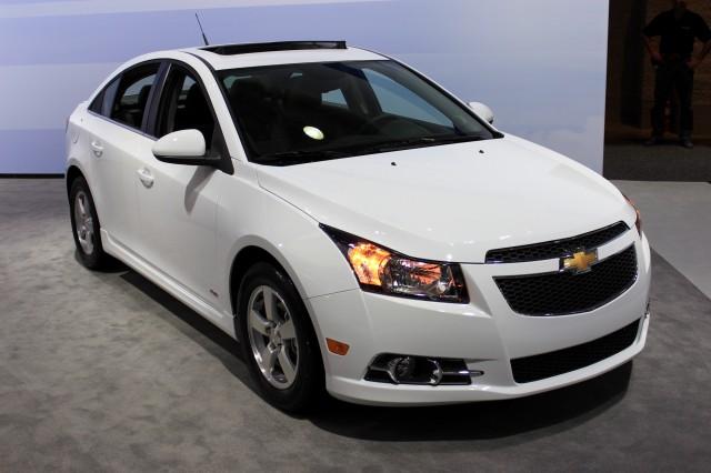 2015 Chevrolet Cruze, 2014 New York Auto Show