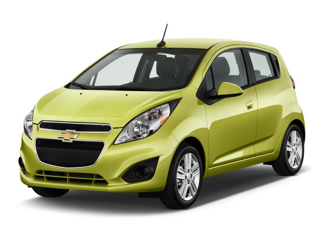 2015 Chevrolet Spark 5dr HB CVT LS Angular Front Exterior View
